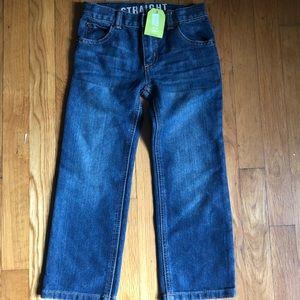 NWT Crazy 8 Boys' Straight Leg Jeans